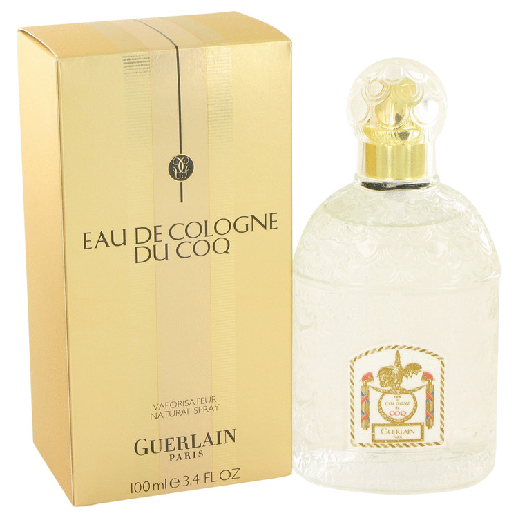 Du Coq by Guerlain Eau De Cologne Spray 3.4 oz for Men