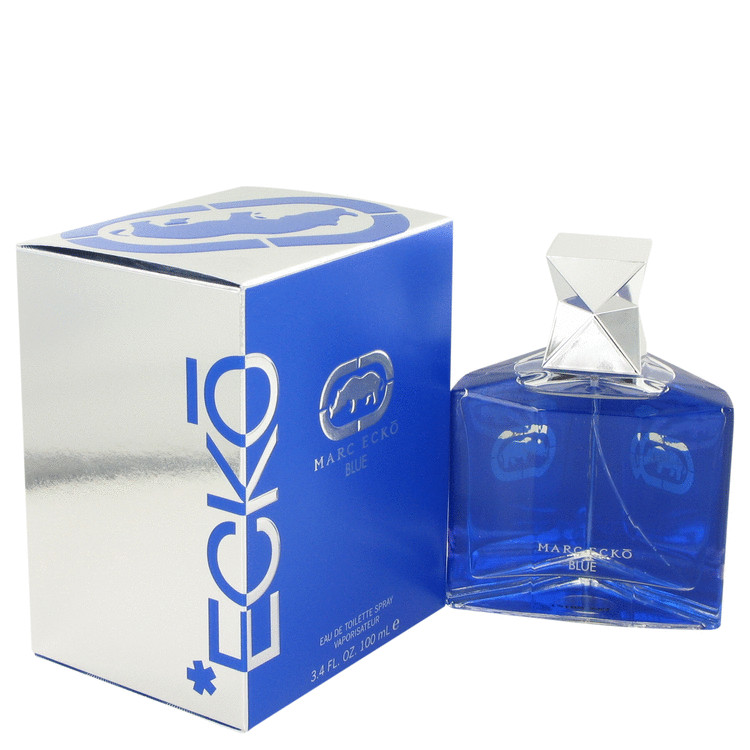 Ecko Blue by Marc Ecko 3.4 oz Eau De Toilette Spray for Men
