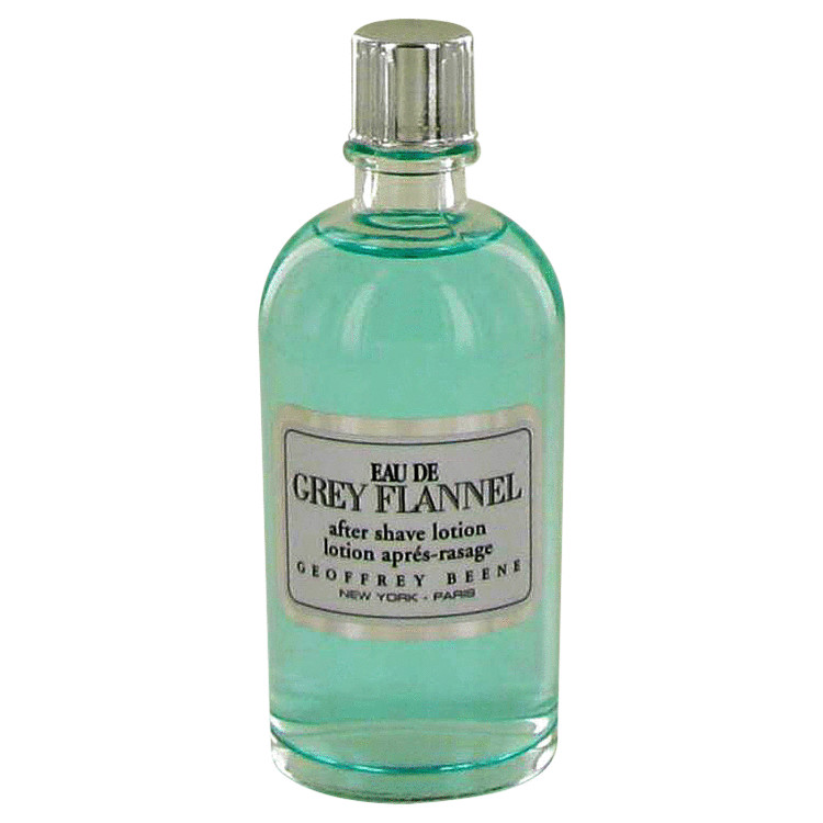EAU DE GREY FLANNEL by Geoffrey Beene After Shave Lotion (unboxed) 4 oz for Men