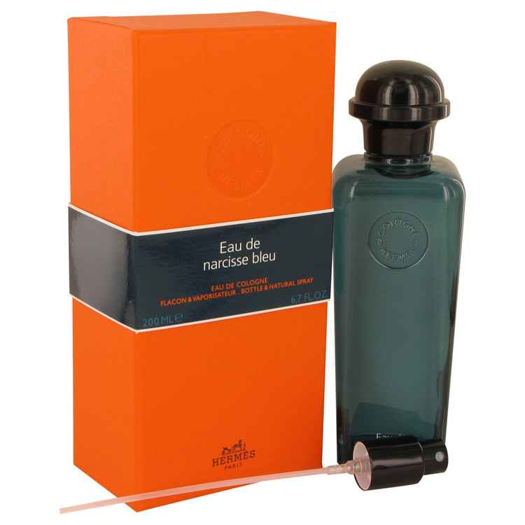 Eau De Narcisse Bleu by Hermes 6.7 oz Cologne Spray for Men