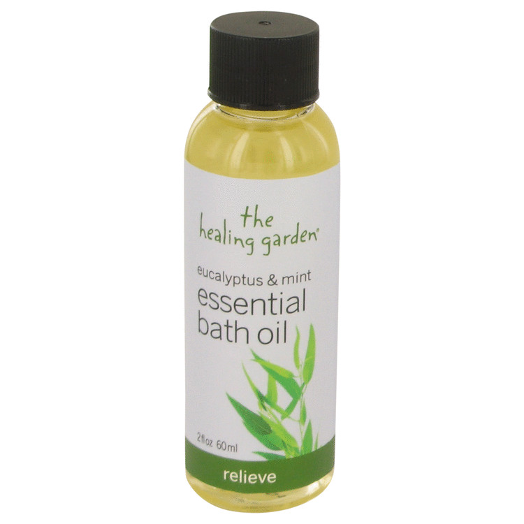 Eucalyptus & Mint by The Healing Garden 2 oz Bath Oil - Relieve for Women