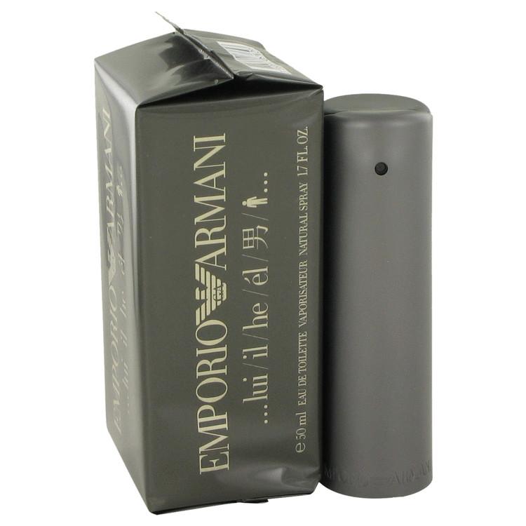 Emporio Armani by Giorgio Armani 1.7 oz Eau De Toilette Spray for Men f2e6cf188c