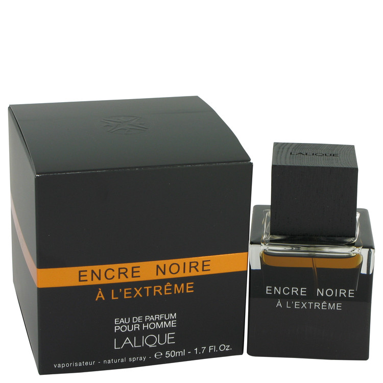 Encre Noire A L'extreme by Lalique 1.7 oz Eau De Parfum Spray for Men