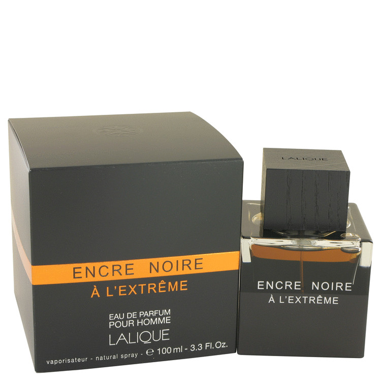 Encre Noire A L'extreme by Lalique 3.3 oz Eau De Parfum Spray for Men