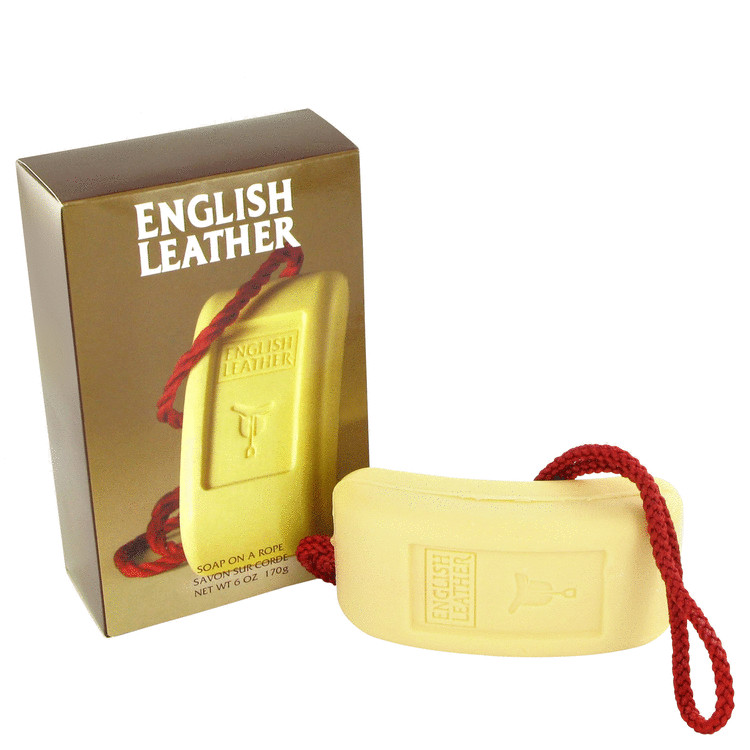 ENGLISH LEATHER by Dana Soap on a rope 6 oz for Men