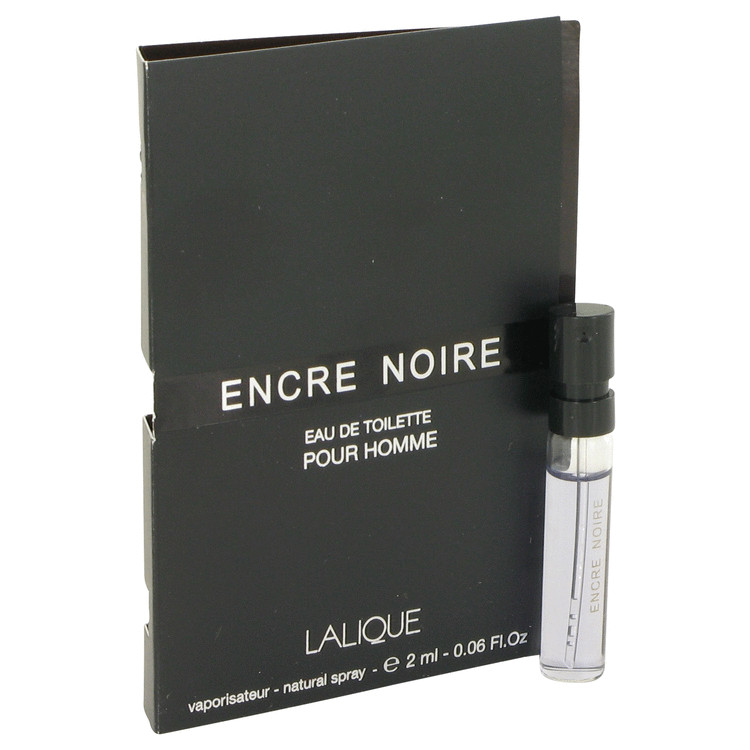 Encre Noire by Lalique Vial (sample) .06 oz for Men