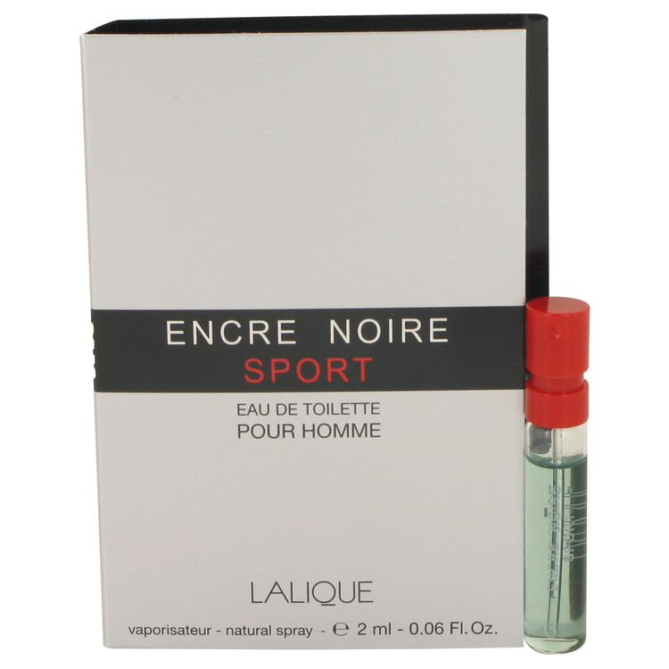 Encre Noire Sport by Lalique Vial (sample) .06 oz for Men