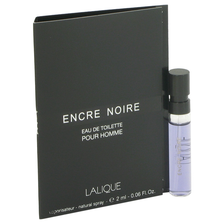Encre Noire by Lalique Vial (sample) .06 oz for Women