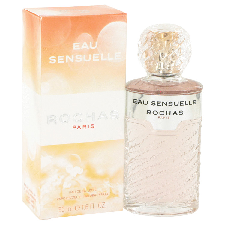 Eau Sensuelle by Rochas Eau De Toilette Spray 1.7 oz for Women