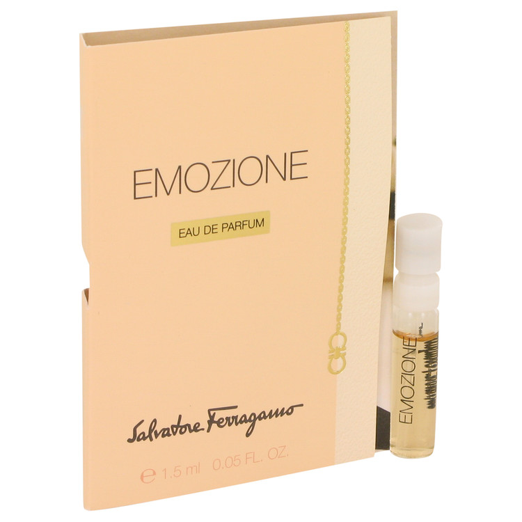 Emozione by Salvatore Ferragamo 0.05 oz Vial for Women