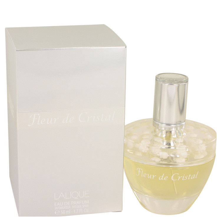 Lalique Fleur De Cristal by Lalique Eau De Parfum Spray 1.7 oz for Women