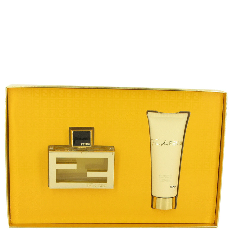 Fan Di Fendi by Fendi Gift Set -- 1.7 oz Eau De Parfum Spray + 2.5 oz Body Lotion for Women