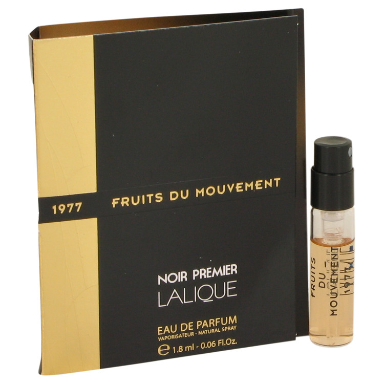 Fruits Du Mouvement by Lalique Vial (sample) .06 oz for Women
