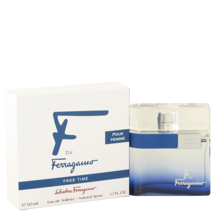 F Free Time by Salvatore Ferragamo 1.7 oz Eau De Toilette Spray for Men