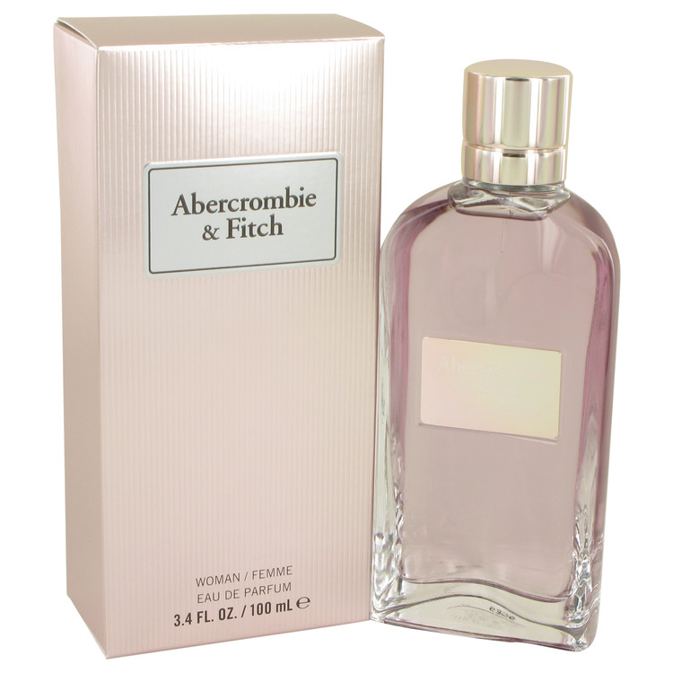 First Instinct by Abercrombie & Fitch Eau De Parfum Spray 3.4 oz for Women