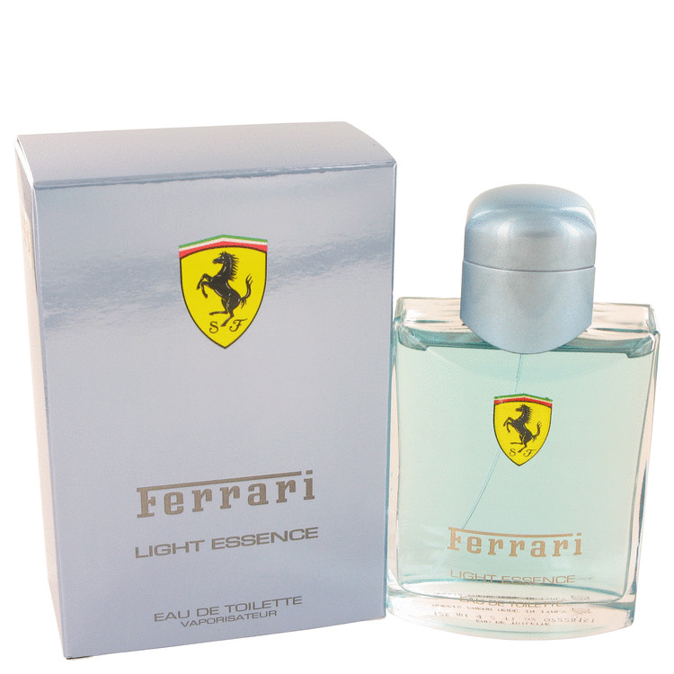 Ferrari Light Essence by Ferrari 4.2 oz Eau De Toilette Spray for Men