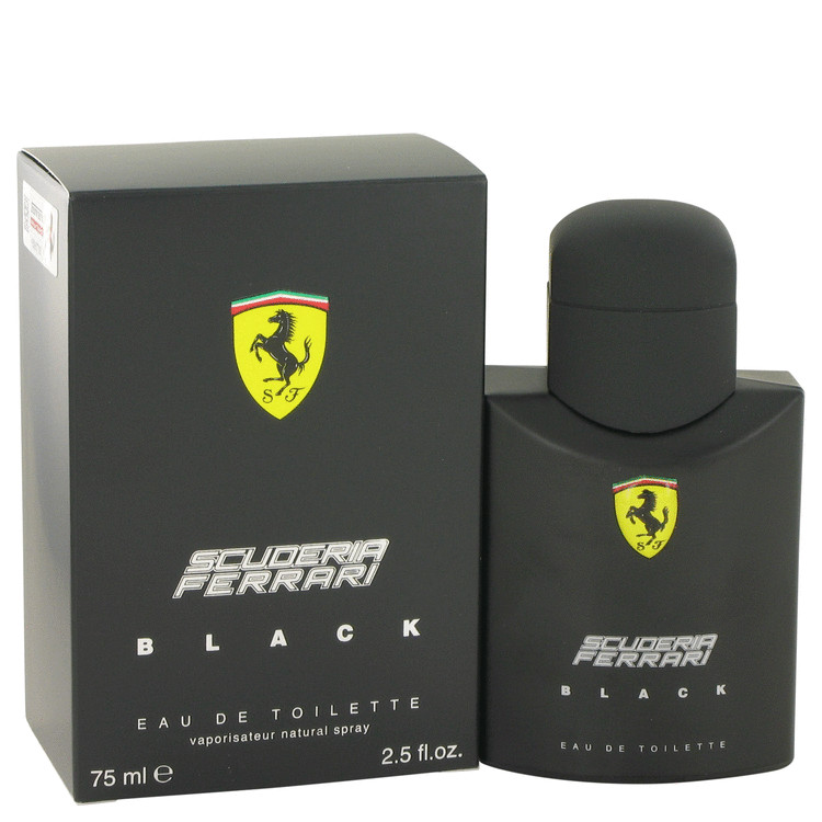 Ferrari Scuderia Black by Ferrari 2.5 oz Eau De Toilette Spray for Men