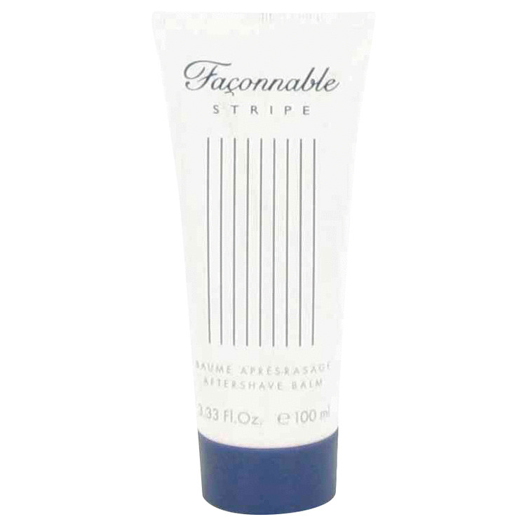 Faconnable Stripe by Faconnable 3.4 oz After Shave Balm for Men
