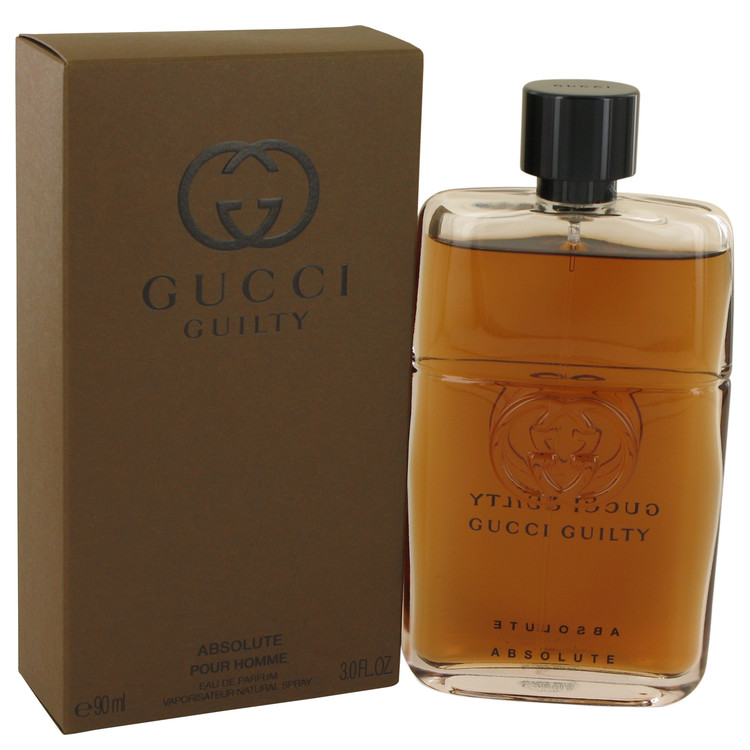 Gucci Guilty Absolute by Gucci 3 oz Eau De Parfum Spray for Men