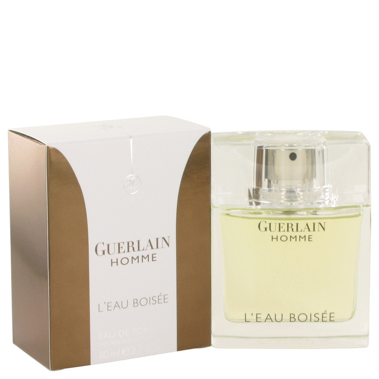 Guerlain Homme L'eau Boisee by Guerlain 2.7 oz Eau De Toilette Spray for Men