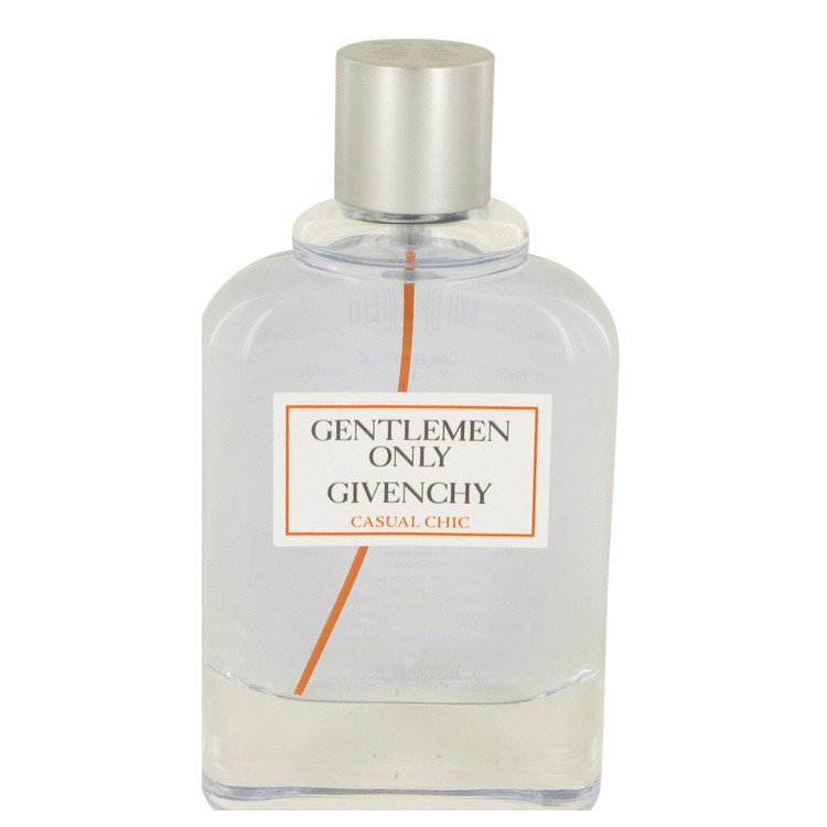 Gentlemen Only Casual Chic by Givenchy Eau De Toilette Spray (Tester) 3.3 oz for Men