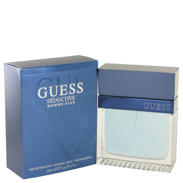 Guess Seductive Homme Blue by Guess 3.4 oz Eau De Toilette Spray for Men