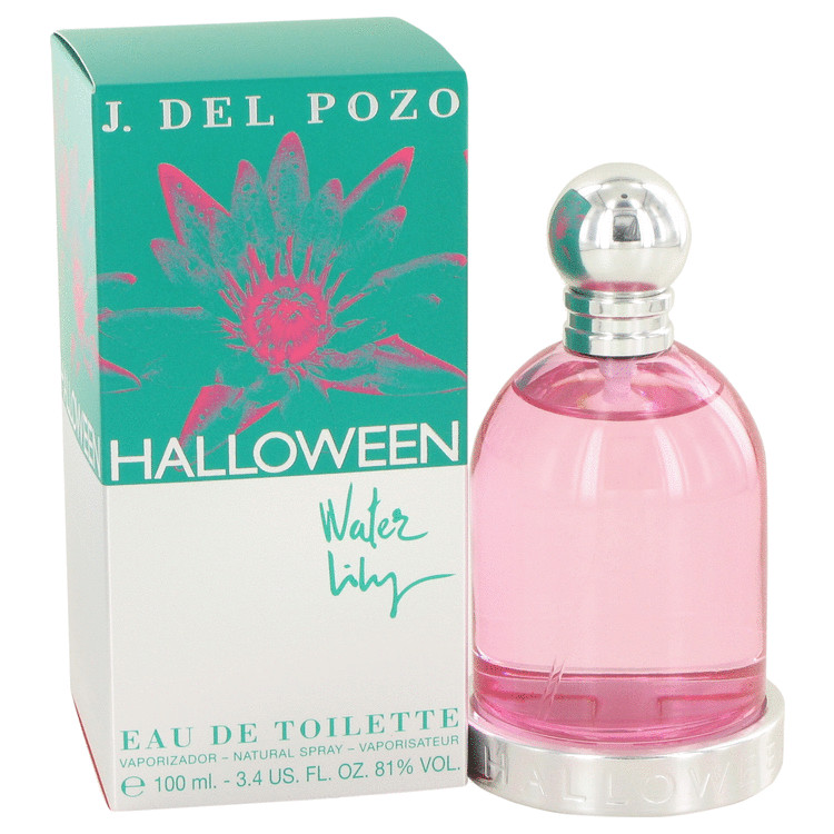 Halloween Water Lilly by Jesus Del Pozo 3.4 oz Eau De Toilette Spray for Women