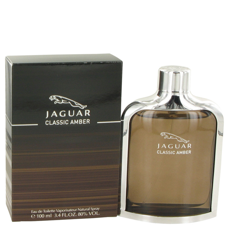 Jaguar Classic Amber by Jaguar 3.4 oz Eau De Toilette Spray for Men