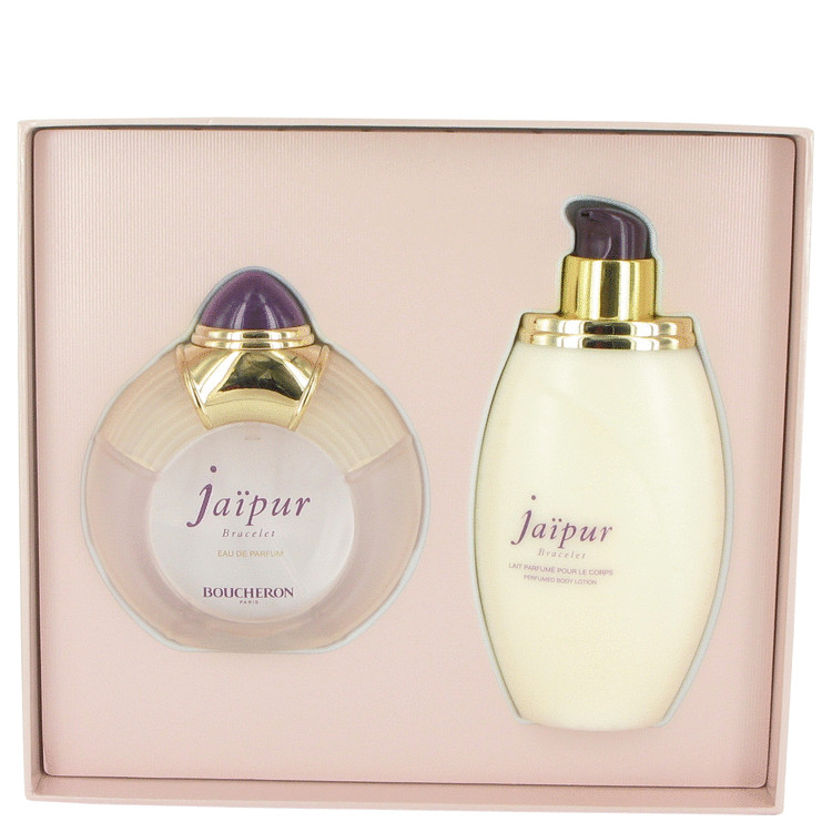 Jaipur Bracelet by Boucheron Gift Set -- 3.3 oz Eau De Parfum Spray + 6.7 oz Body Lotion for Women