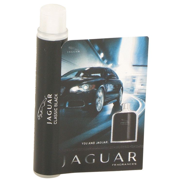 Jaguar Classic Black by Jaguar Vial (sample) .05 oz for Men