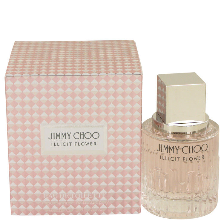 Jimmy Choo Illicit Flower by Jimmy Choo Eau De Toilette Spray 1.3 oz for Women
