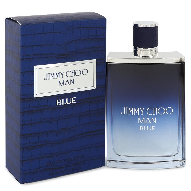 Jimmy Choo Man Blue by Jimmy Choo 3.4 oz Eau De Toilette Spray for Men