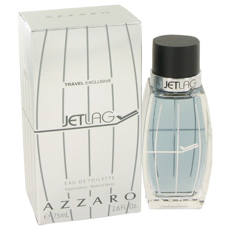 Azzaro Jetlag by Azzaro 2.6 oz Eau De Toilette Spray for Men