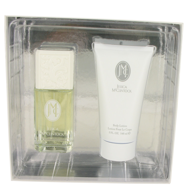 Jessica Mc Clintock by Jessica McClintock 3.4 oz Eau De Parfum Spray + 5 oz Body Lotion for Women