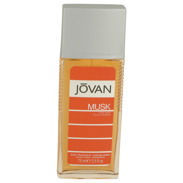 JOVAN MUSK by Jovan Body Spray 2.5 oz for Men
