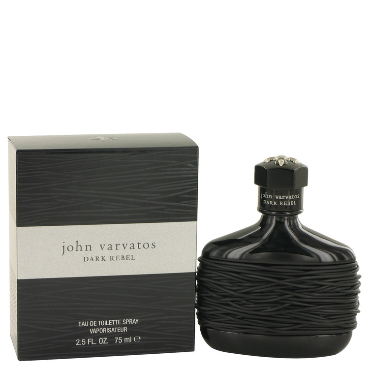 John Varvatos Dark Rebel by John Varvatos Eau De Toilette Spray 2.5 oz for Men