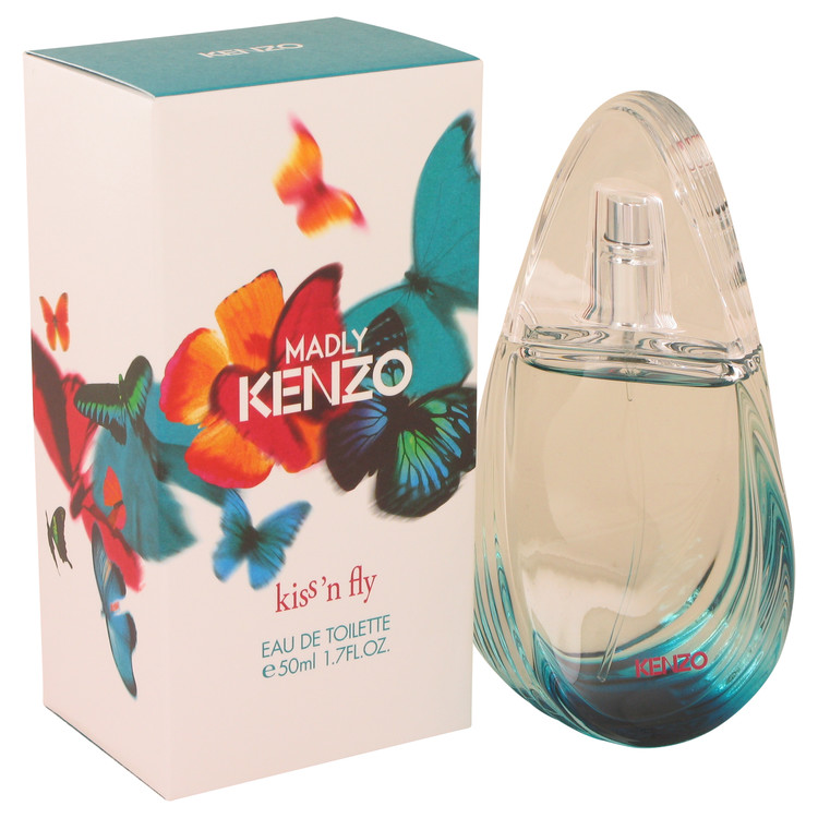 Kenzo Madly Kiss N Fly by Kenzo 1.7 oz Eau De Toilette Spray for Women