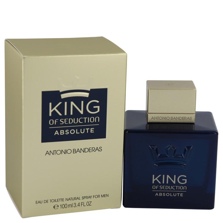 King Of Seduction Absolute by Antonio Banderas 3.4 oz Eau De Toilette Spray for Men