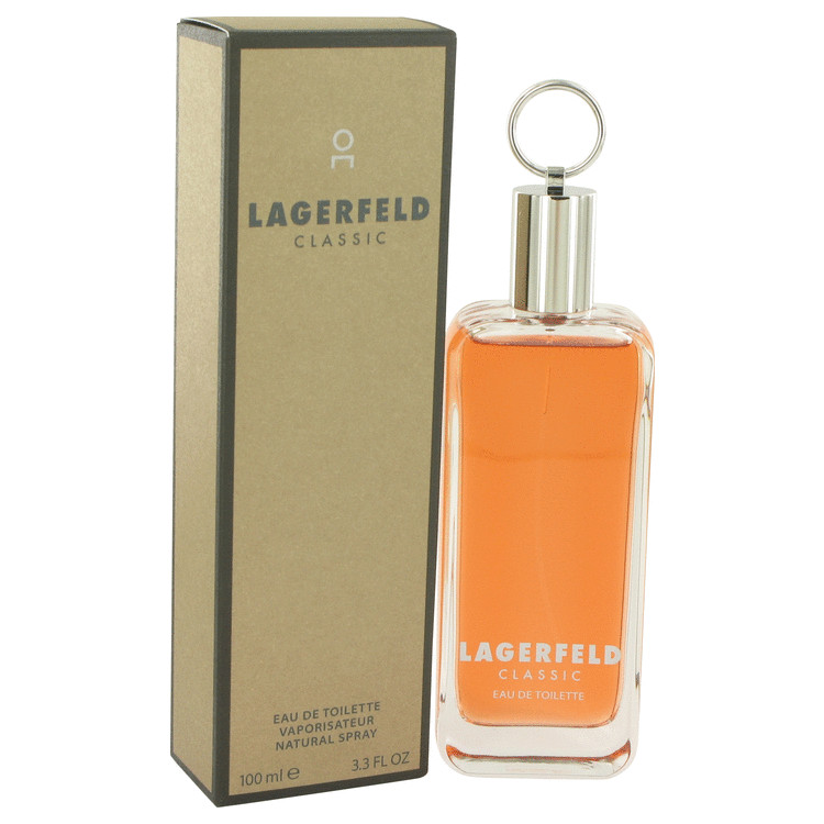 Lagerfeld by Karl Lagerfeld 3.3 oz Eau De Toilette Spray for Men