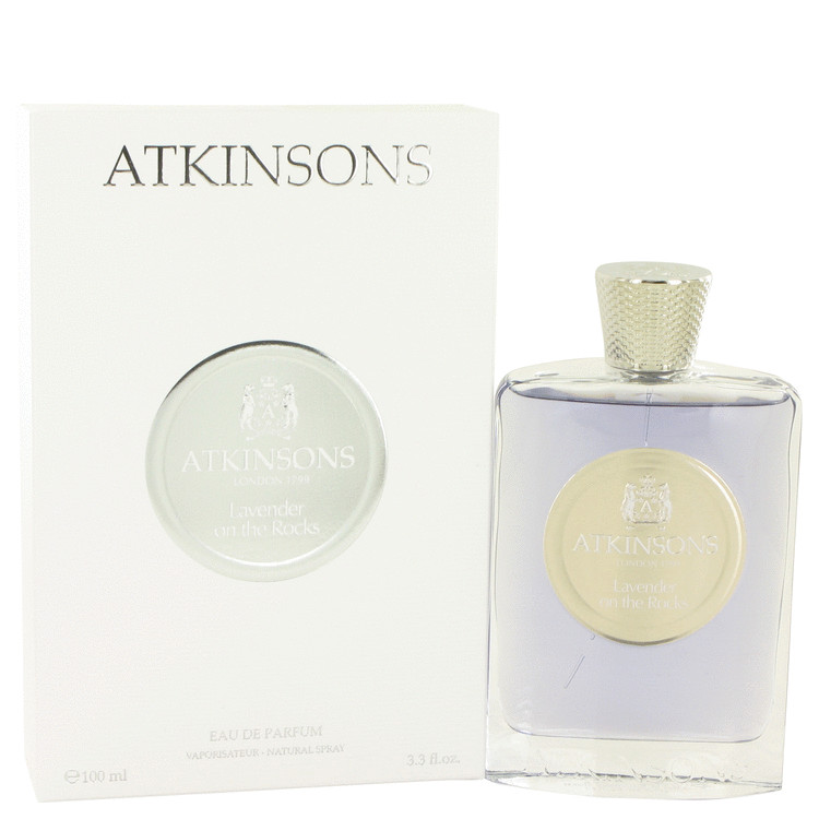 Lavender On The Rocks by Atkinsons 3.3 oz Eau De Parfum Spray for Women