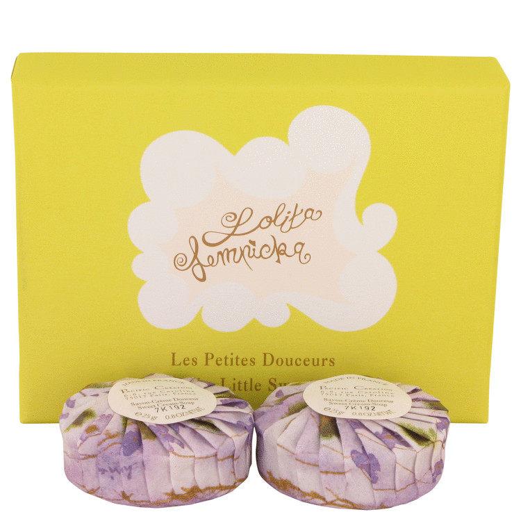 LOLITA LEMPICKA by Lolita Lempicka Two .85 oz Sweet Cream Soaps .85 oz for Women