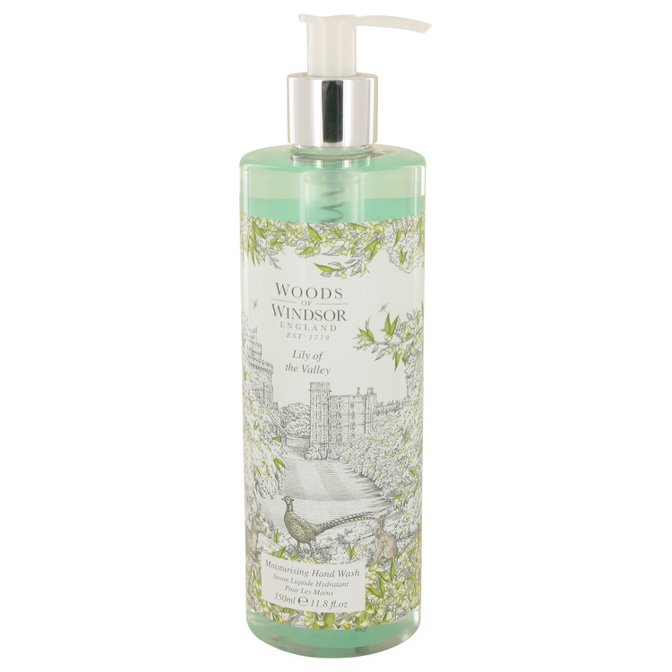 Lily Of The Valley (woods Of Windsor) by Woods of Windsor 11.8 oz Hand Wash for Women