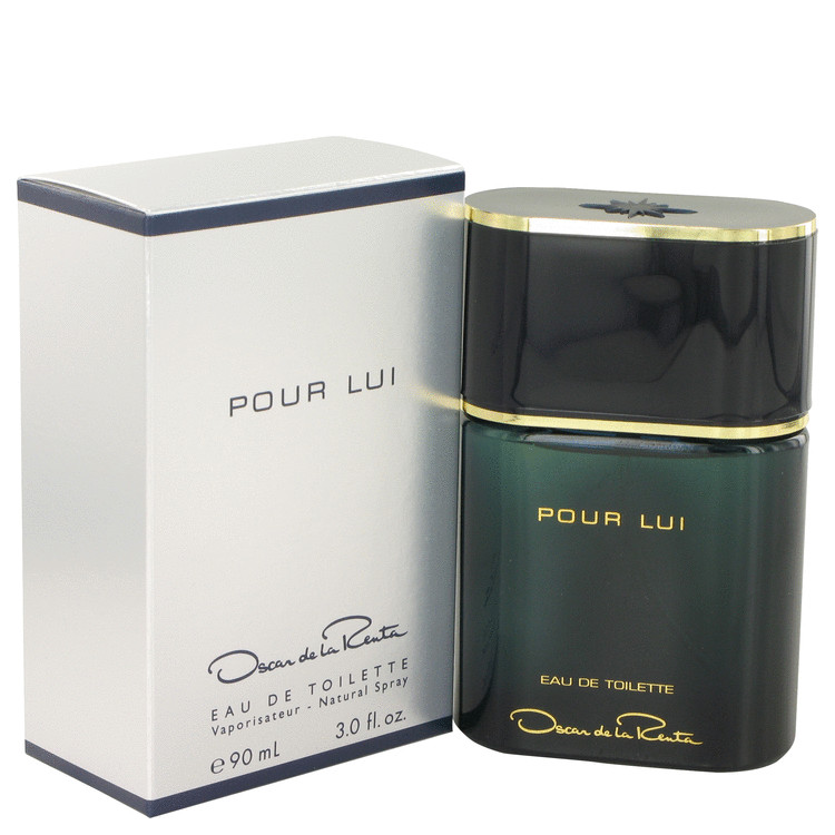 Oscar Pour Lui by Oscar de la Renta 3 oz Eau De Toilette Spray for Men