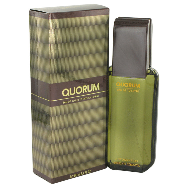 Quorum by Antonio Puig 3.4 oz Eau De Toilette Spray for Men