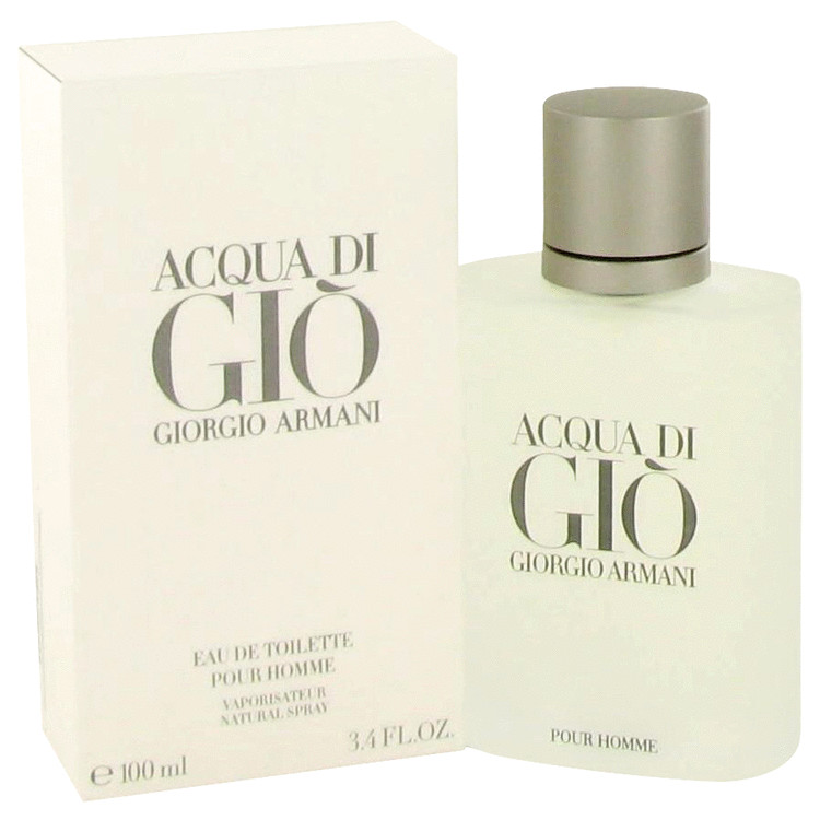 Acqua Di Gio by Giorgio Armani 3.3 oz Eau De Toilette Spray for Men