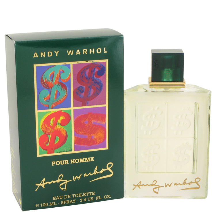 Andy Warhol by Andy Warhol Eau De Toilette Spray 3.4 oz for Men