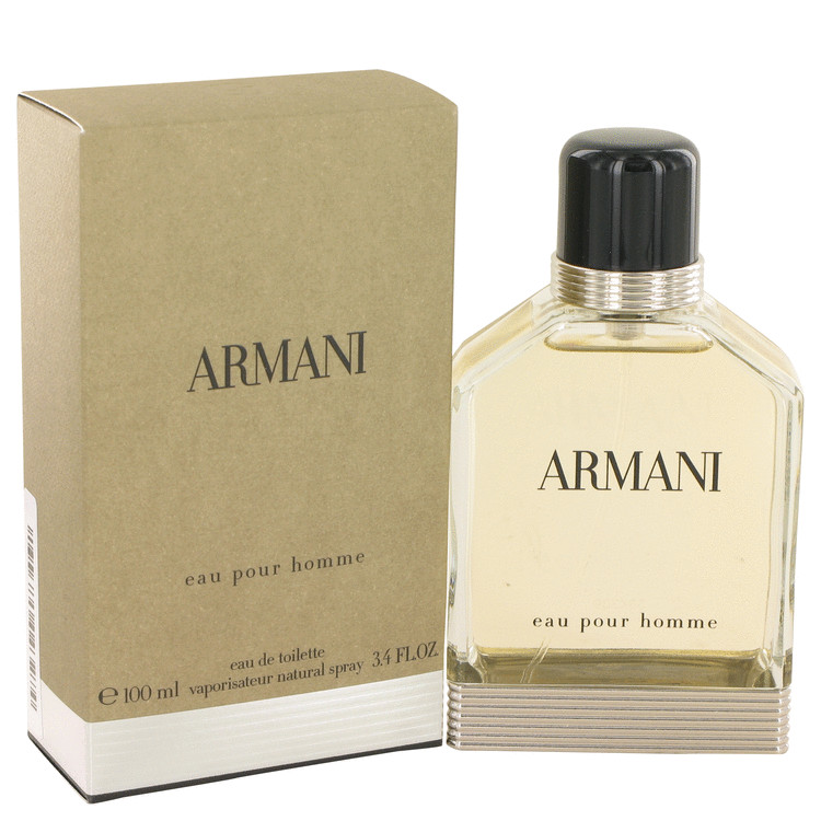 Armani by Giorgio Armani 3.4 oz Eau De Toilette Spray for Men