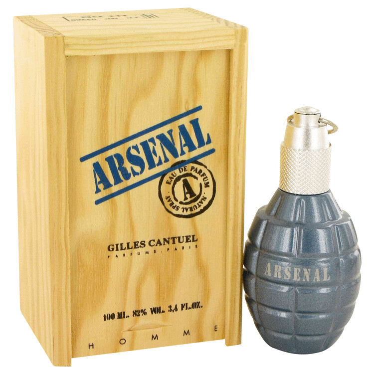 Arsenal Blue by Gilles Cantuel 3.4 oz Eau De Parfum Spray for Men