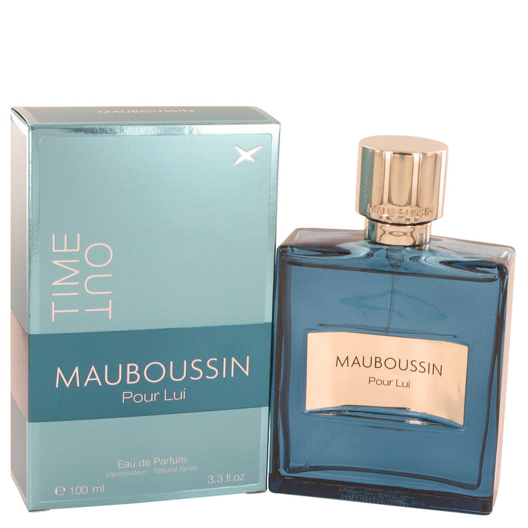Mauboussin Pour Lui Time Out by Mauboussin 3.4 oz Eau De Parfum Spray for Men
