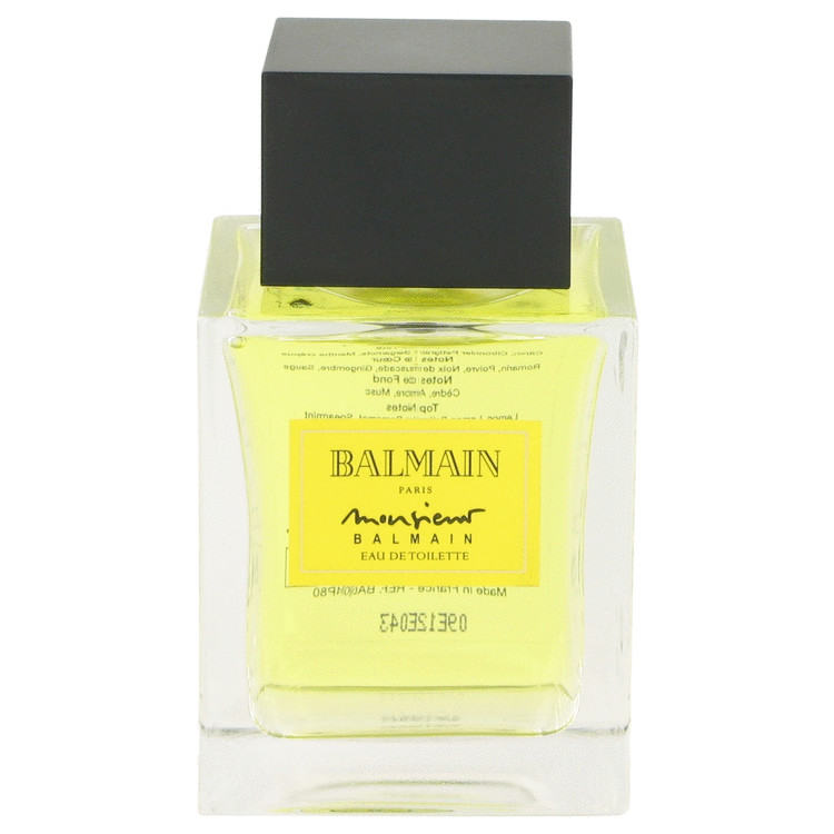 MONSIEUR BALMAIN by Pierre Balmain Eau De Toilette Spray (Tester) 3.4 oz for Men